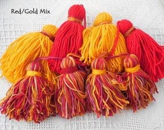 Tribal Belt Tassels- Autumn Color Sets