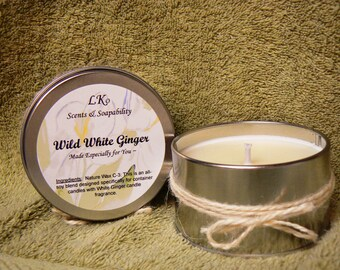 4 oz. travel candles in heavenly scents