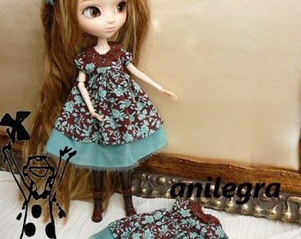 dress babydoll bhythe or pullip and adono hair