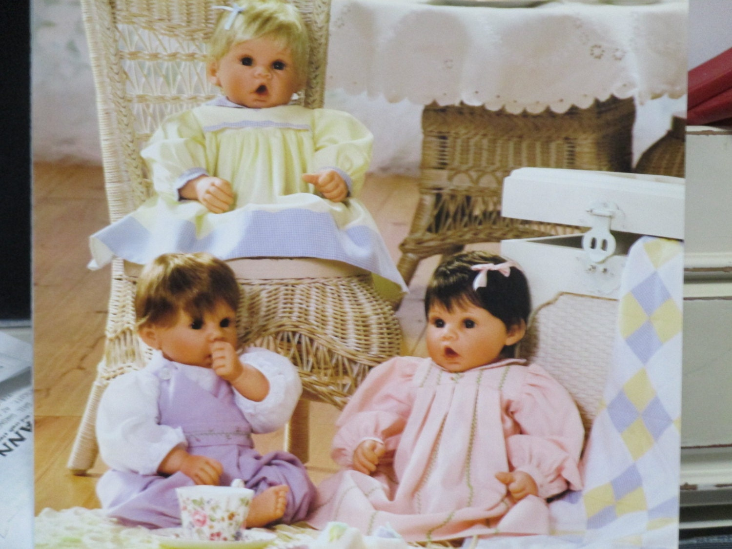 Precious Heirloom Baby Doll Clothes Pattern Book for Middleton
