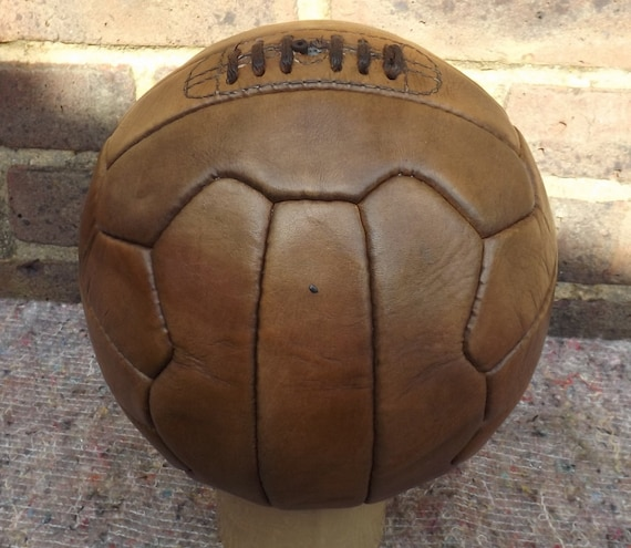 Vintage Style Old Fashioned Leather Football
