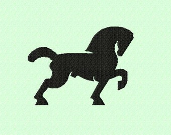 Embroidery pattern - Horse / cold blood
