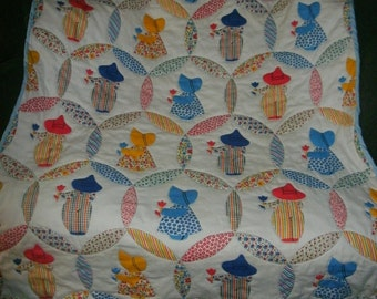 Hand quilted quilt