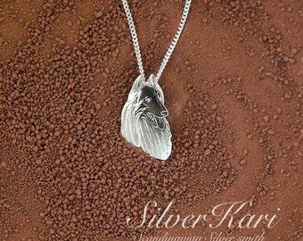 Groenendael, sterling silver necklace