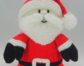 Knitted Father Christmas Pattern Free : KNITTING PATTERN Santa Father Christmas Toilet Roll Cover