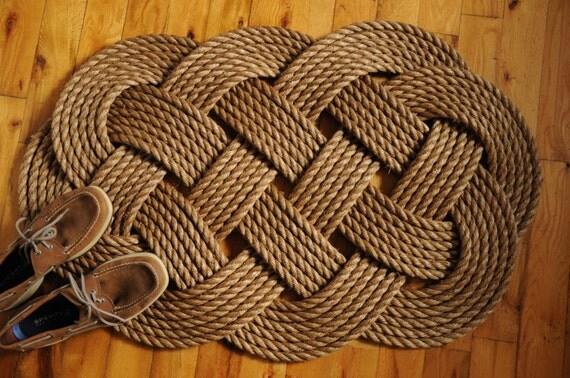 tapis de corde nautique grand diam tre corde manille porte. Black Bedroom Furniture Sets. Home Design Ideas