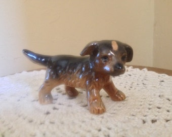 Vintage Goebel Puppy Dog Shepard from 1970's-Great Collectible West Germany