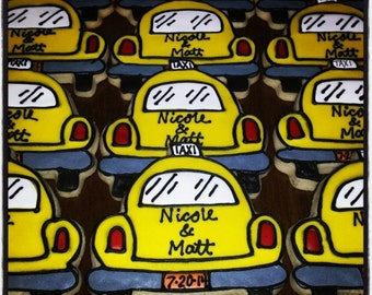 NYC Taxi cab cookies