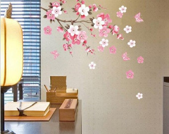 Cherry Blossom Wall Decal Wall Sticker window cling