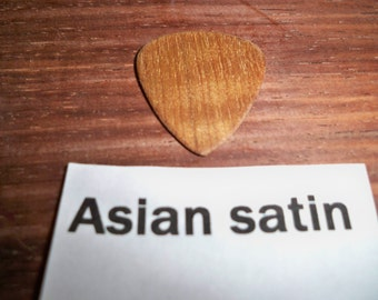 Asian Satin wood Guitar Pick