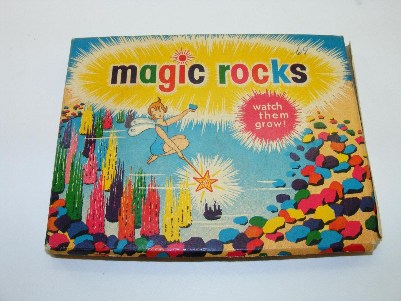 1950s vintage magic rocks. Black Bedroom Furniture Sets. Home Design Ideas