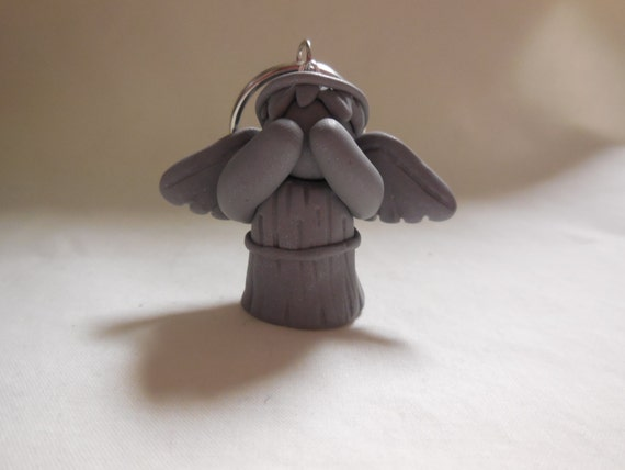 CeeBeesCreations- Doctor Who Inspired Weeping Angel KeyChain