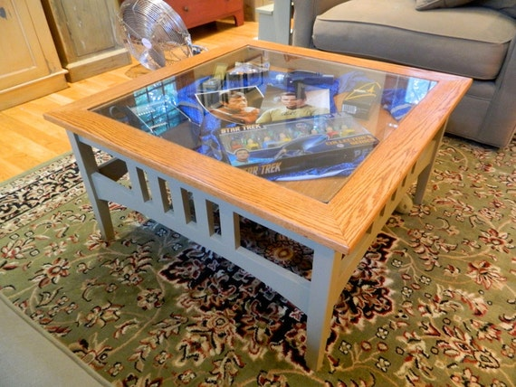 Items Similar To Shaker Style Display Coffee Table On Etsy