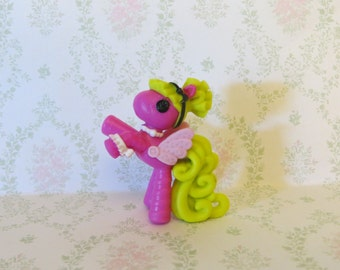 Pony Pendant-Lalaloopsy-Chunky Bead Necklace-Supplies-Wholesale-Carousel Horse