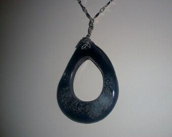 Cloudburst Blue Necklace