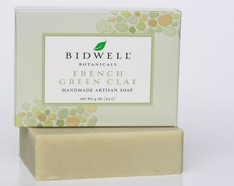 French Green Clay Handmade Artisan Soap