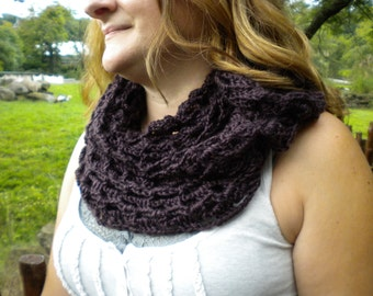All In One Crocheted Scarf/ Shawl/ Cowl