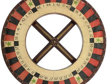 Roulette Wheel Carnival Game Wall Decal #49418