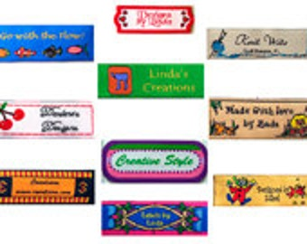Customized Clothing tags in Small Quantities