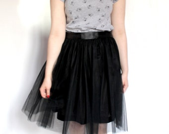 Black Tulle Skirt Hollywood (more colors available)