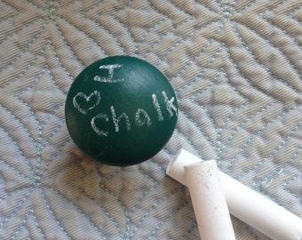 Chalkboard cabinet knobs