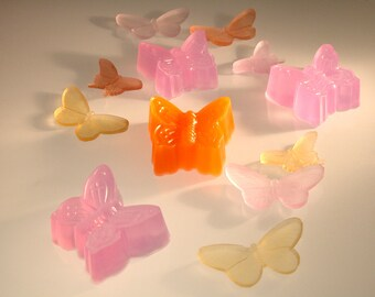 Beautiful Butterfly Glycerine Soap - Gift Soap, Decorative Soap, Vegan Soap