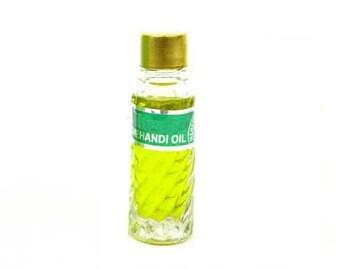 Mehndi Henna Oil Blend: Myrtle & Lemon Essential Oils 5ml for Henna, Lotion, Soap Making, Perfumes