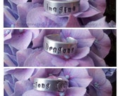 Hand stamped Imagine Dragons Aluminium Cuff Ring Ring Metal Jewellery Jewelry Cuff Ring Imagine Dragons Dragons Music Band.