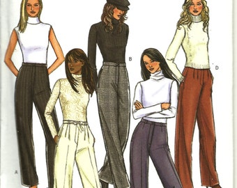 Butterick  4292   Misses/Petites  Pants  uncut  Sizes 6,8,10,12