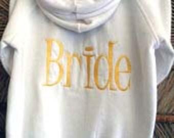 Personalized Bride Hoodie