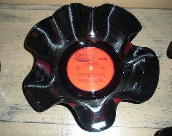 Vinyl Record Bowls