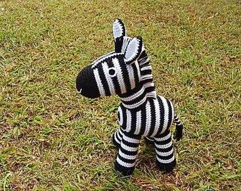 Amigurumi Crochet Pattern - Zebra  Pattern No.36
