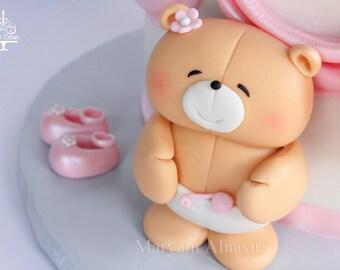 forever friends fondant bear