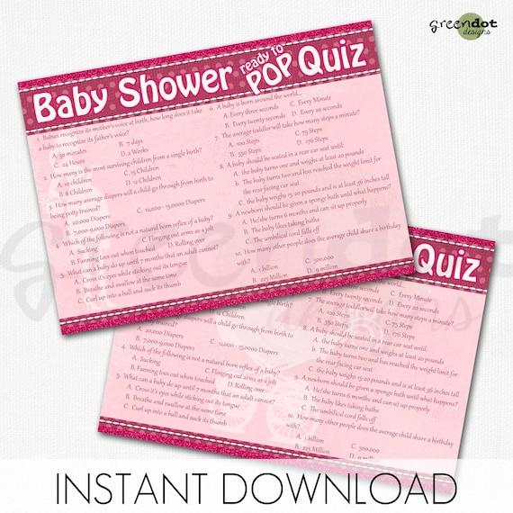 spørgsmål til babyshower