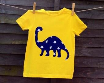 Boys Dinosaur T Shirt, Top.