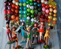 The Pirate Fairy Inspired Chunky Necklace Rosetta,  Silver Mist, Vidia, Iridessa, Fawn, Zarina or Tinkerbell