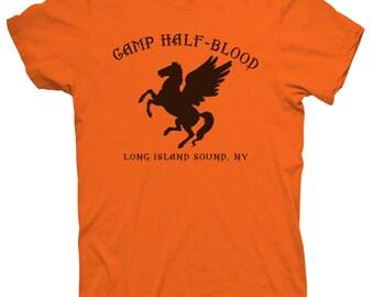 Youth Camp Half-Blood Long Island Sound NY T shirt