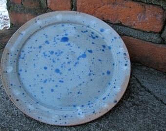 Wheel-thrown Plate