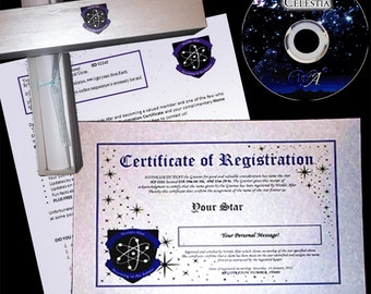 Name A Star - A personalised Bar or Bat Mitzvah gift for her or him