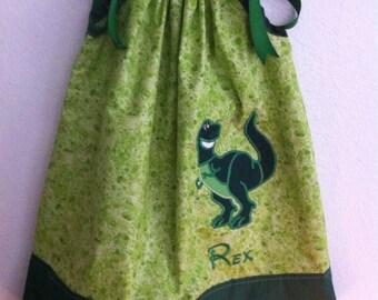 Rex pillowcase dress