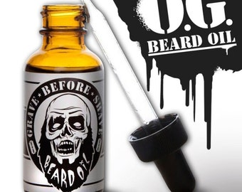 GRAVE BEFORE SHAVE Beard Oil