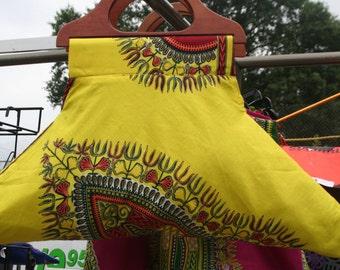 OOAK STATEMENT BAG Yellow