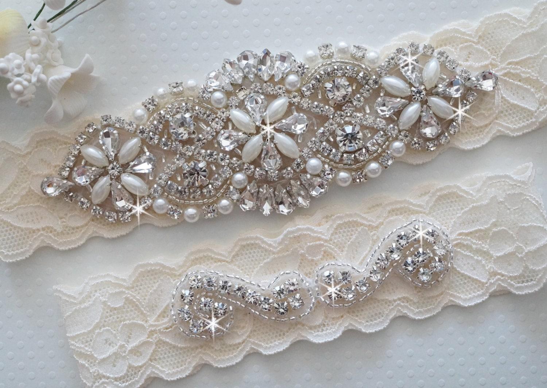 MIA Style A Bridal Garter Wedding Garter Set Stretch Lace