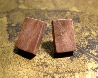 Maple Post Earrings
