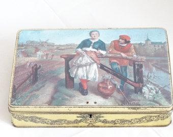 Vintage Tin Superchocolat Jacques