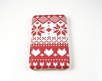 SALE Knitted Noel iPod Classic Hard Cover Shell Case 80/120/160 GB 6th 7th generation / iPod Touch 5