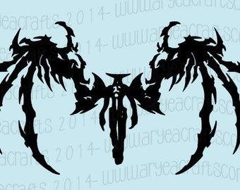 Diabolos from Final Fantasy Vinyl Decal