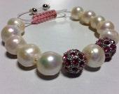 Women pearl stackable bracelet