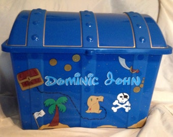 Treasure Chest Toy Box