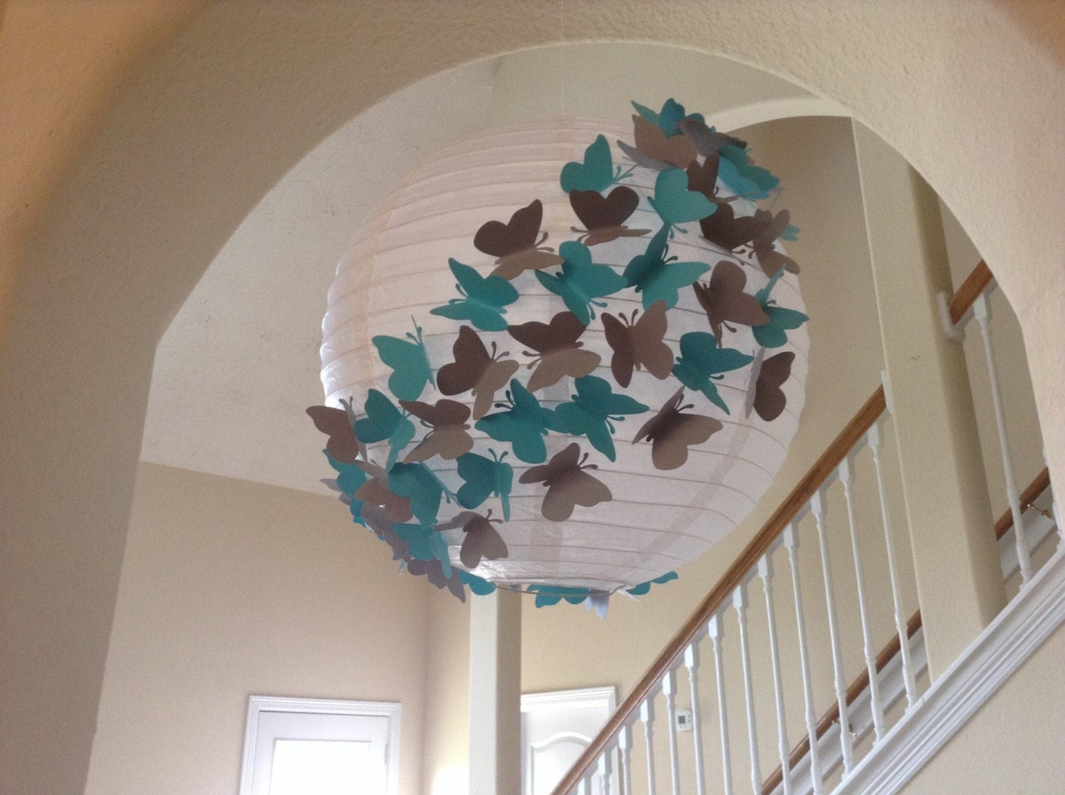 Chandeliers pendant lights for Cool paper decorations
